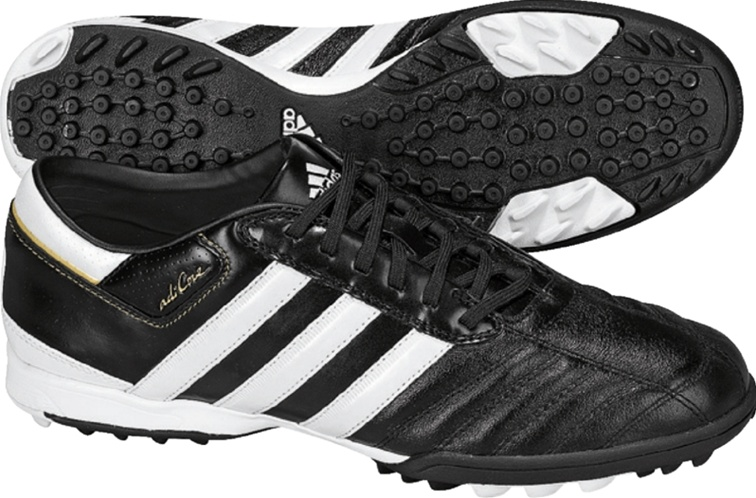 buy popular ab3a2 2f4d8 ... authentic adidas adicore iii trx turf ground soccer shoes black white  128c1 9e221