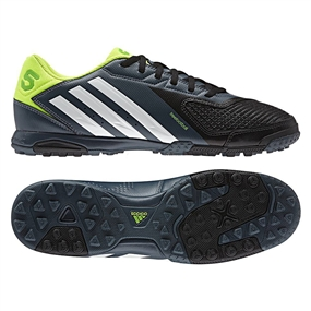 separation shoes f9661 25f41 Adidas Freefootball X-ite Turf Soccer Shoes (Black Running  White Electricity)