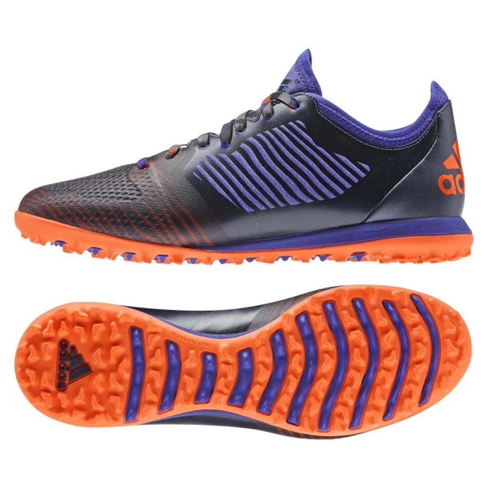 Adidas X 15.1 CG Turf Soccer Shoe (Collegiate Navy/Night Flash/Solar Orange
