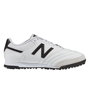New Balance 442 Team TF Turf Soccer Shoes (White/Black)