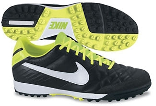 7a32a62c7 Nike Tiempo Mystic IV Soccer Turf Shoes (Black/Electric Green/White)