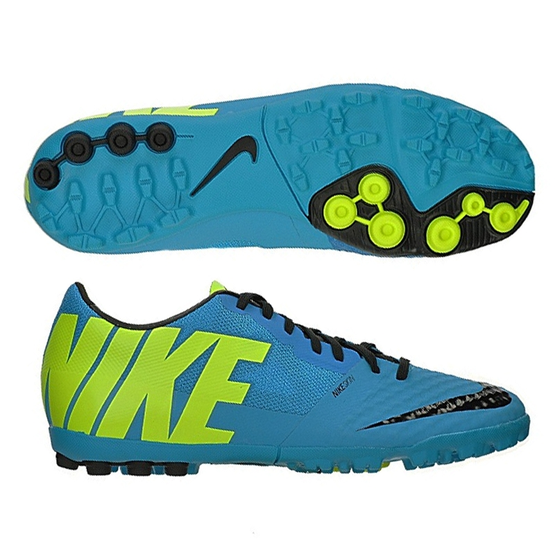 separation shoes f344b 44ee9 Nike FC247 Bomba Finale II Turf Soccer Shoes (Current Blue Blue Hero Black