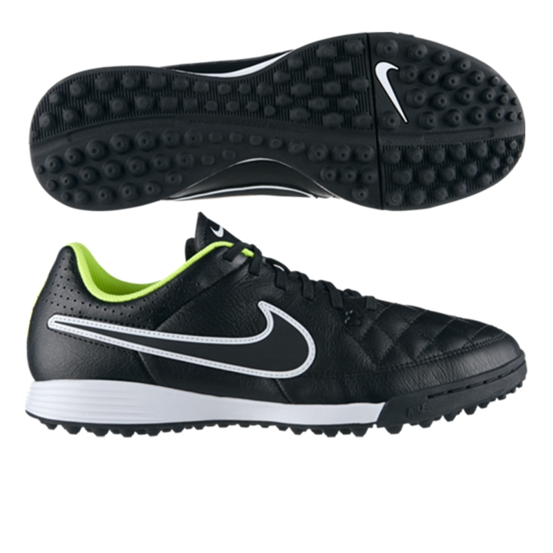 Nike Youth Tiempo Genio Leather Turf Shoes