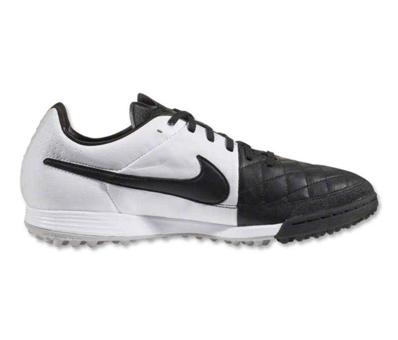 70f49adbf5e Nike Tiempo Legacy Soccer Turf Shoes (Black White)