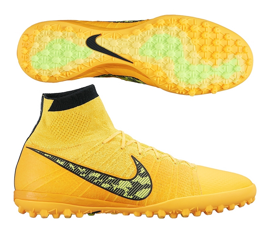 13499 Nike Elastico Superfly Tf Turf Soccer Shoes Laser Orange