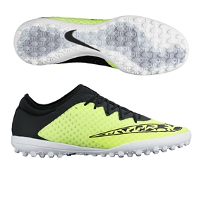 Nike Elastico Finale III TF Turf Soccer Shoes (Volt/White/Wolf Grey/Black)