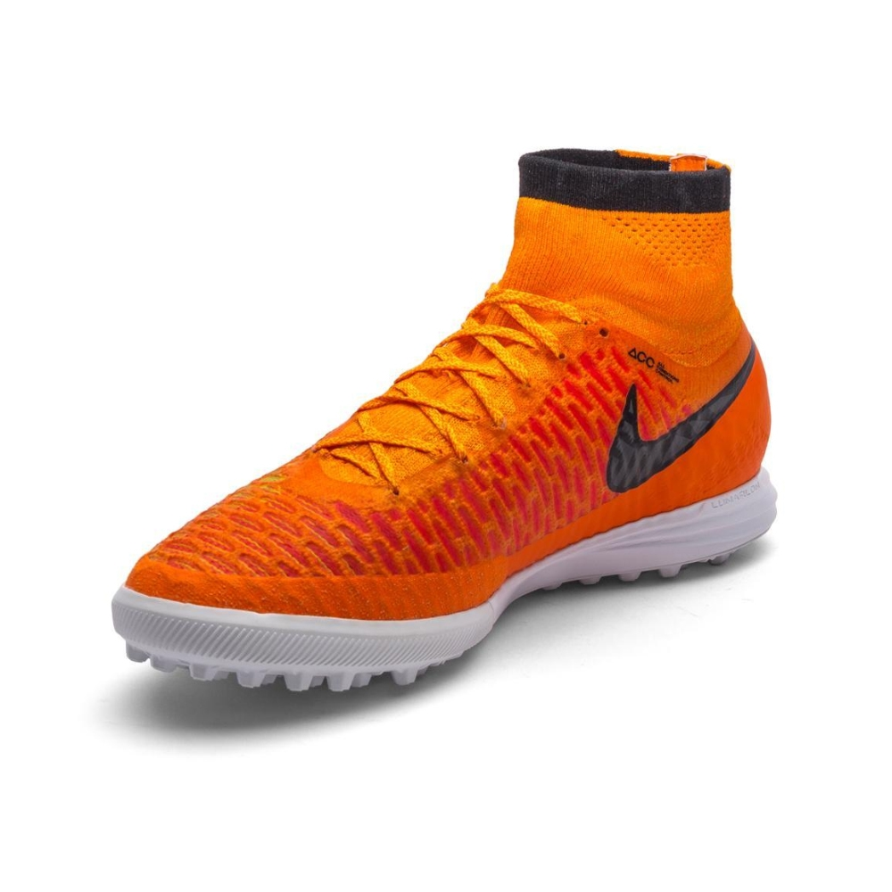 Women Nike MagistaX Proximo TF Orange Black
