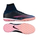 Nike MercurialX Proximo TF Turf Soccer Shoes (Black/Pink Blast/Racer Blue)