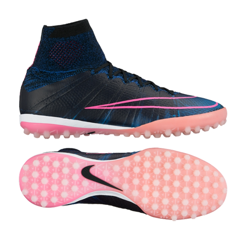 low priced d79d6 2c9b5 ... canada nike mercurialx proximo tf turf soccer shoes black pink blast  racer blue e578d 3a78f