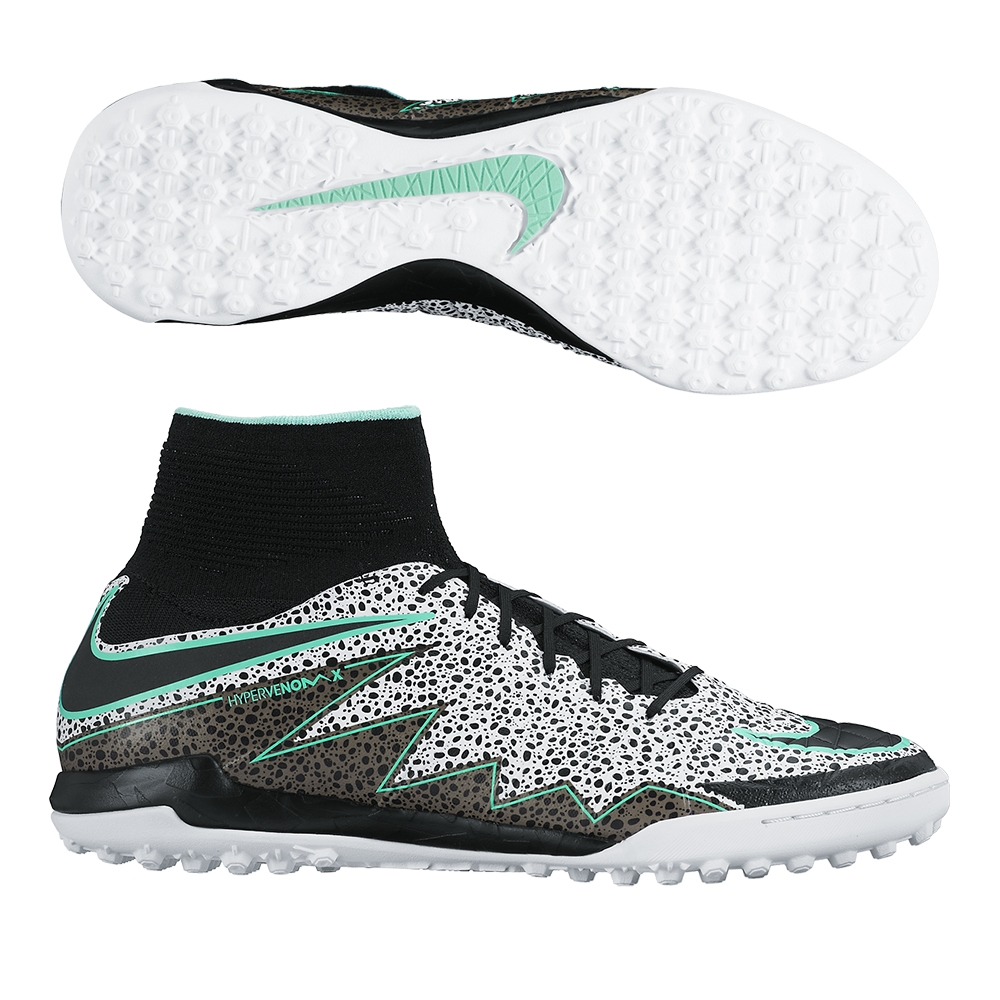 finest selection 7bdab 123ec SALE  109.95 Add to Cart for Price- Nike HypervenomX Proximo Street TF Turf  Soccer Shoes (White Green Glow Black)   Nike Turf Soccer Shoes   Nike ...