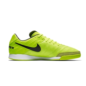 Nike TiempoX Mystic V IC Indoor Soccer Shoes (Volt/Black/Volt)