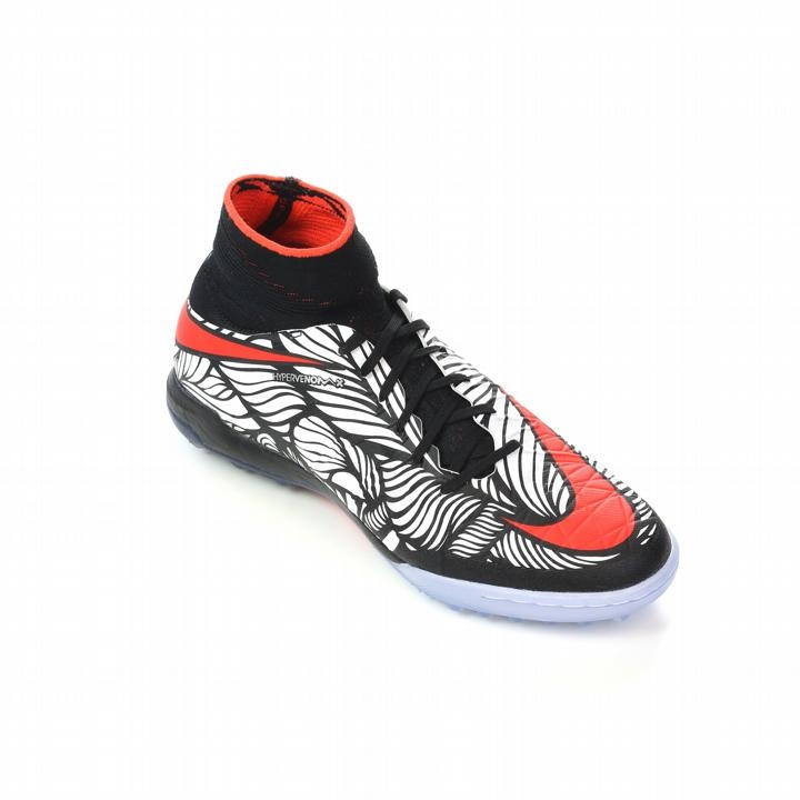 Nike Neymar HypervenomX Proximo TF Turf Soccer Shoes (Black/White/Bright  Crimson)