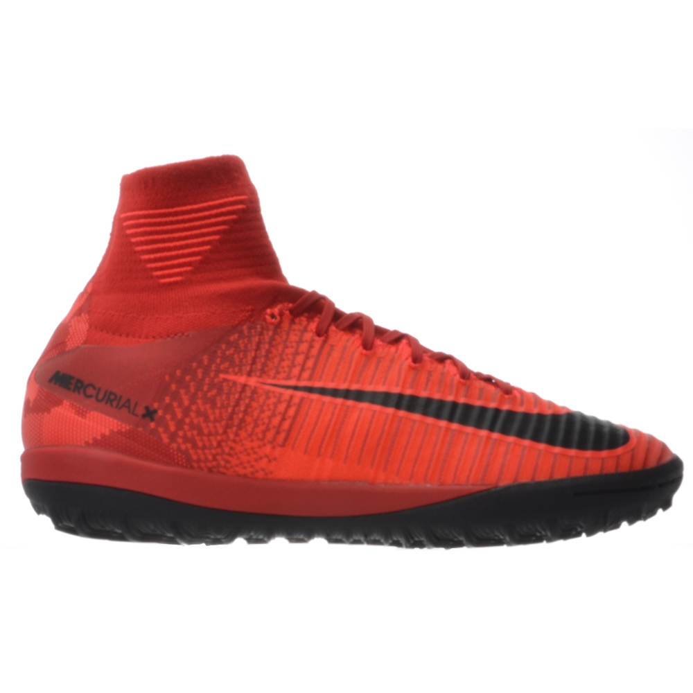 a75141f9a Nike MercurialX Proximo II DF TF Turf Soccer Shoes (University Red Black Bright  Crimson)