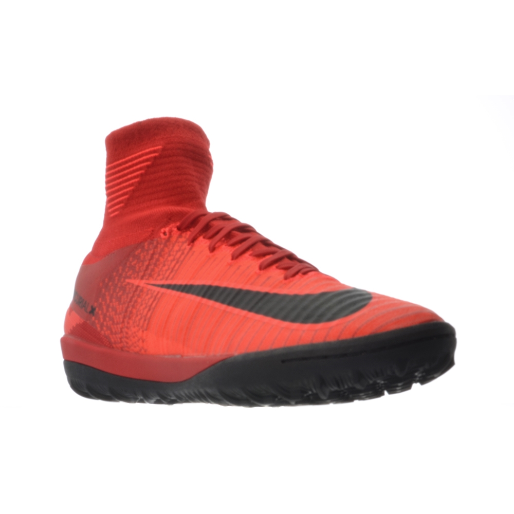 sports shoes 85809 157a6 Nike MercurialX Proximo II DF TF Turf Soccer Shoes (University Red Black Bright  ...