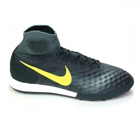 Nike MagistaX Proximo TF Turf Soccer Shoes (Seaweed/Volt/Hasta/Mica Green)