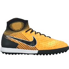 Nike MagistaX Proximo II DF TF Turf Soccer Shoes (Laser Orange/Black/White/Volt)