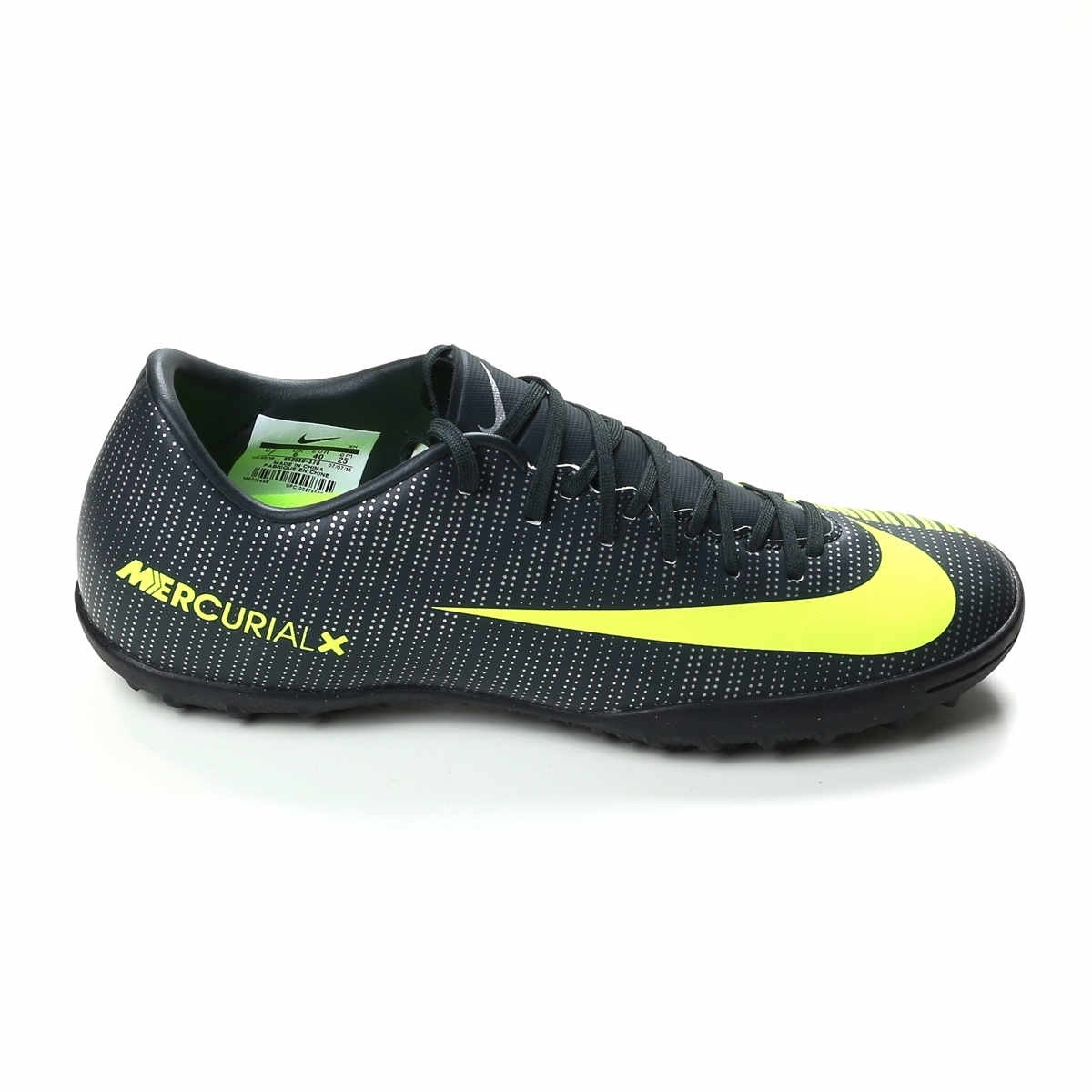 wholesale dealer c4bbf 51b39 Nike Mercurial Victory VI CR7 Turf Soccer Shoes (Seaweed/Volt/Hasta/White)