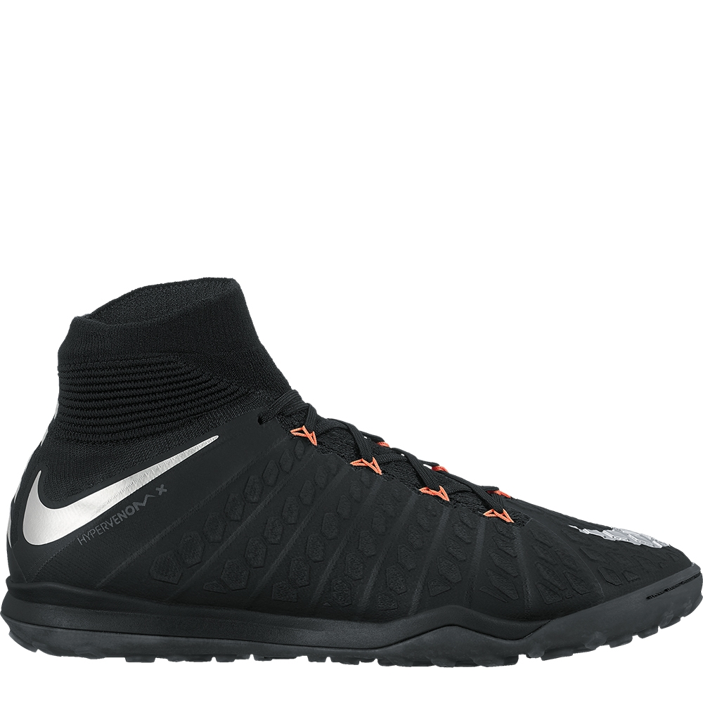 dc3236ab21e39 Nike HypervenomX Proximo II DF TF Turf Soccer Shoes (Black/Metallic  Silver/Anthracite) | Nike Turf Soccer Shoes | Nike 852576-001 | FREE  SHIPPING ...