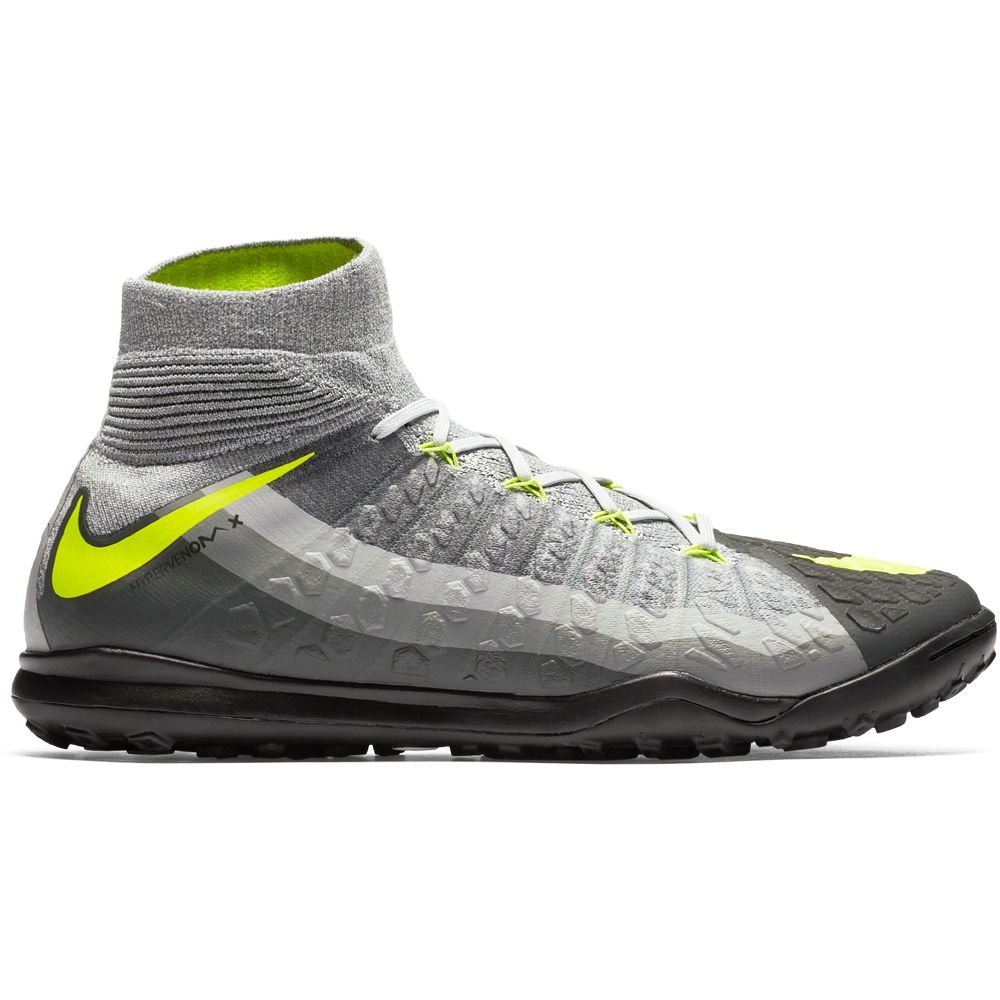 huge discount 2afd5 41a6f Nike HypervenomX Proximo II DF TF Turf Soccer Shoes (BlackVoltDark  GreyWolf Grey)  Nike Turf Soccer Shoes  Nike 852576-071  FREE SHIPPING  ...