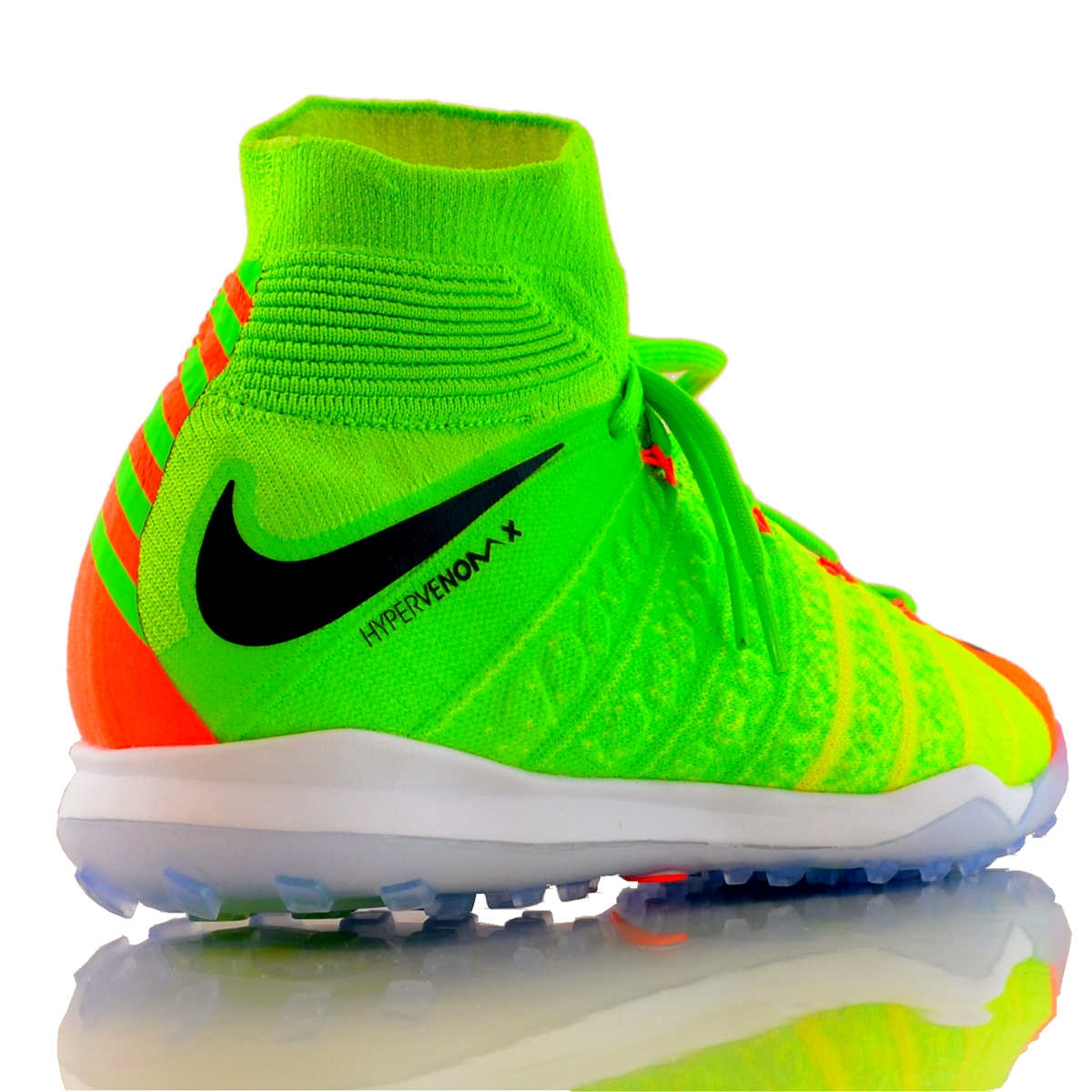 Nike HypervenomX Proximo II DF TF Turf Soccer Shoes (Electric Green ... 2ef27582a