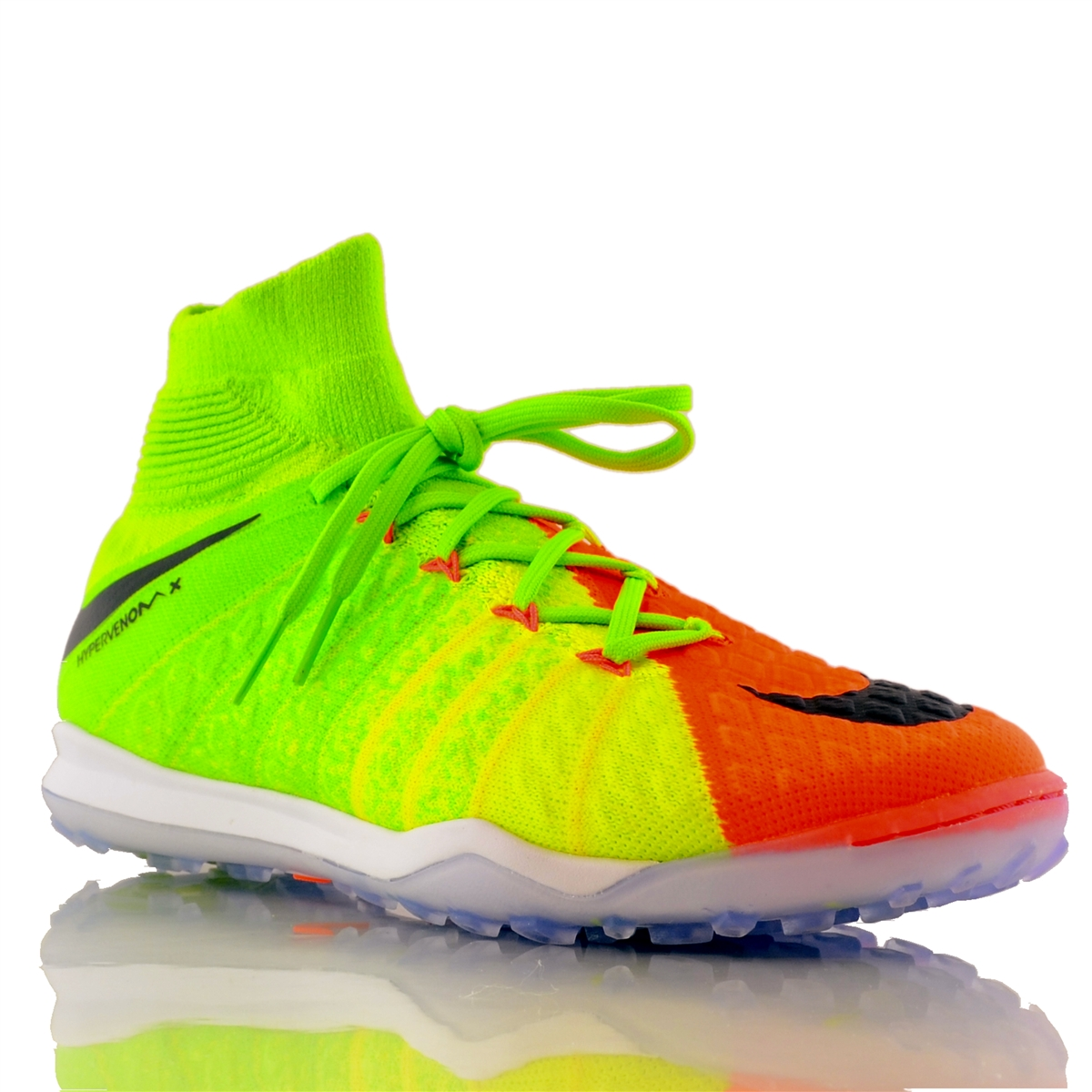 c8e7564722c7b Nike HypervenomX Proximo II DF TF Turf Soccer Shoes (Electric Green ...