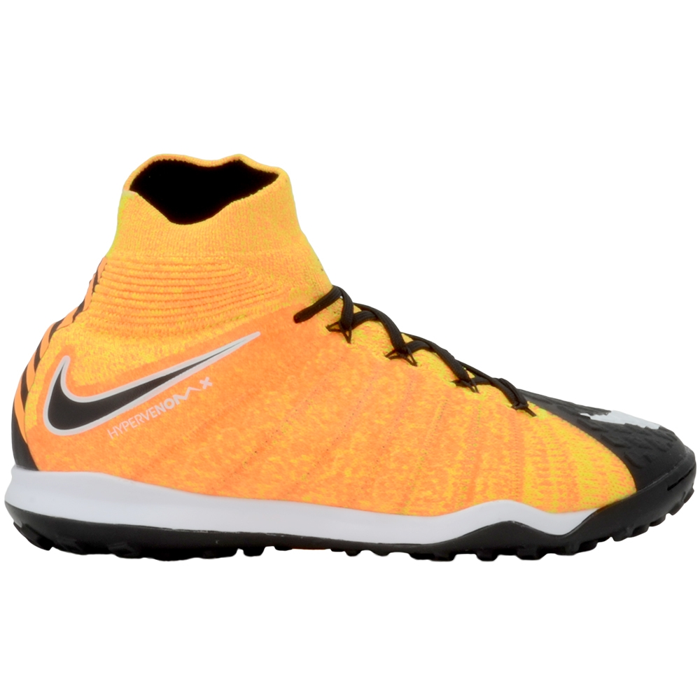 aae22aeaa Nike HypervenomX Proximo II DF TF Turf Soccer Shoes (Laser Orange White  Black Volt)