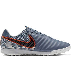 Nike LegendX 7 Academy TF Turf Soccer Shoes (Armory Blue/Black/Hyper Crimson)