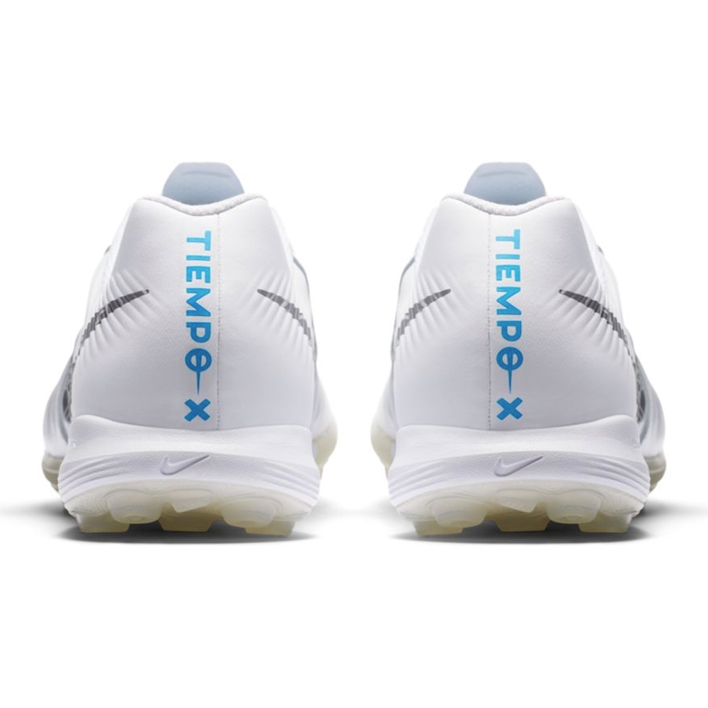 ba283131d Nike Lunar LegendX VII Pro TF Turf Soccer Shoes (White Metallic Cool Grey Blue  Hero)