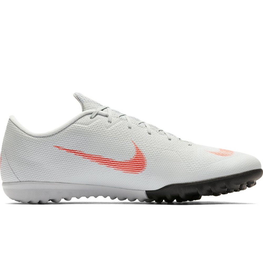 new product ff1ab d140f Nike Mercurial VaporX XII Academy TF Turf Soccer Shoes (Wolf Grey/Light  Crimson/Pure Platinum)