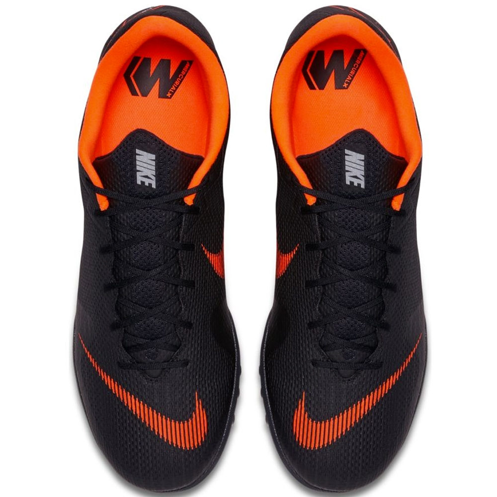 size 40 1af61 26574 Nike Mercurial VaporX XII Academy TF Turf Soccer Shoes (Black Total Orange  White)
