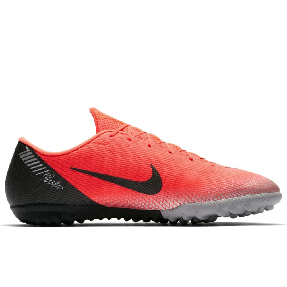 low priced 9675a 99a8c Nike VaporX 12 Academy CR7 TF Turf Soccer Shoes (Bright ...