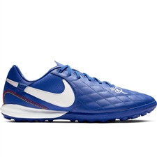 Nike Lunar LegendX 7 Pro 10R TF Turf Soccer Shoes (Game Royal/White)