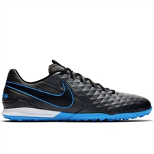 Nike Legend 8 Academy TF Turf Soccer Shoes (Black/Blue Hero)