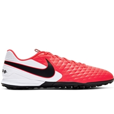 Nike Tiempo Legend 8 Academy TF Turf Soccer Shoes (Laser Crimson/Black/White)