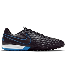 Nike Legend 8 Club TF Turf Soccer Shoes (Black/Blue Hero)