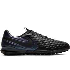 Nike Tiempo Legend 8 Pro TF Turf Soccer Shoes (Black)