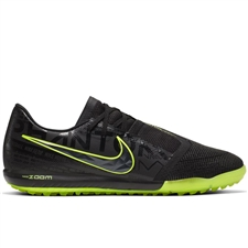 Nike Zoom Phantom Venom Pro TF Turf Soccer Shoes (Black/Volt)