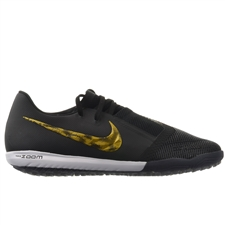 Nike Zoom Phantom Venom Pro TF Turf Soccer Shoes (Black/Metallic Vivid Gold)