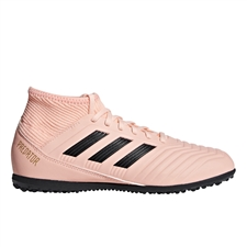 Adidas Predator Tango 18.3 Youth Turf Soccer Shoes (Clear Orange/Black/Trace Pink)