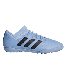 Adidas Nemeziz Messi Tango 18.3 Youth Turf Soccer Shoes (Ash Blue/Black/Raw Grey) | Adidas Turf Shoes