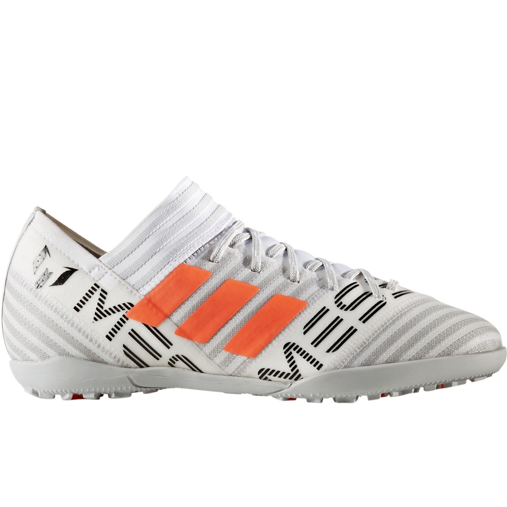 9ac0ce9960ae Adidas Nemeziz Messi Tango 17.3 Youth Turf Soccer Shoes (White Solar  Orange Core