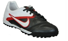 Nike CTR360 Libretto II Youth Turf Soccer Shoes(Black/Challenge Red/White)