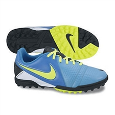 Nike CTR360 Libretto III Youth Turf Soccer Shoes (Current Blue/Black/Blue Hero/Volt)