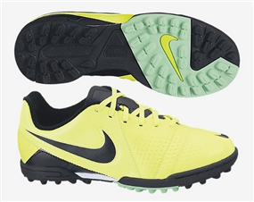 Nike CTR360 Libretto III Youth Turf Soccer Shoes (Volt/Black/Green Glow)