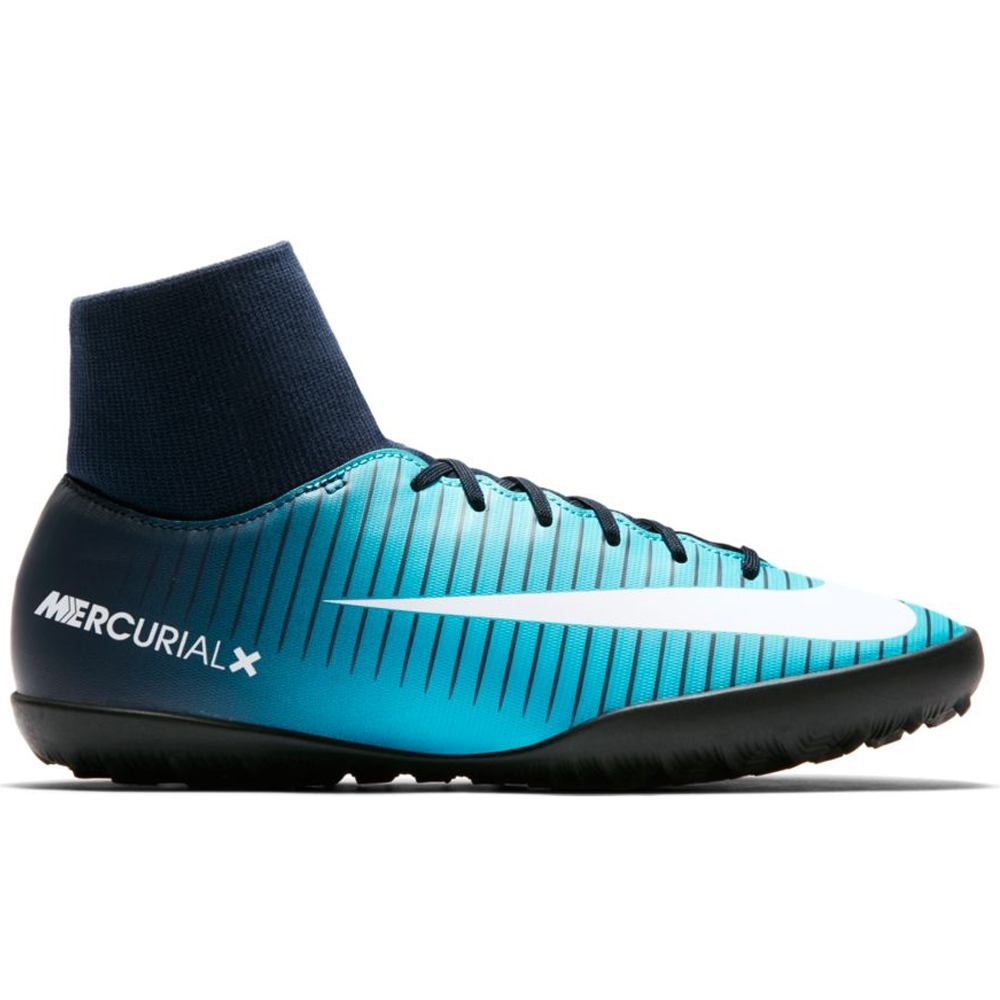 finest selection c157e 85b16 Nike Youth MercurialX Victory VI DF TF Turf Soccer Shoes  (Obsidian White Gamma Blue)   Nike Indoor Soccer Shoes   Nike SCCRX   Nike  FootballX   903604-404 ...