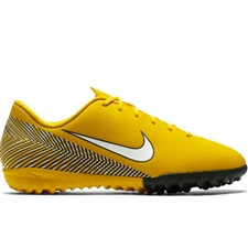Nike Youth Neymar Vapor 12 Academy TF Turf Soccer Shoes (Amarillo/White/Black)