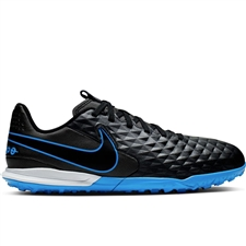 Nike Youth Legend 8 Academy TF Turf Soccer Shoes (Black/Blue Hero)
