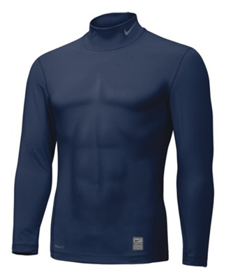 Nike Pro Core Long Sleeve Mock Tight