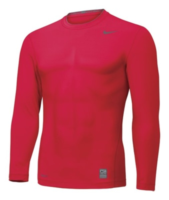 Nike Pro Core Long Sleeve Crew Tight