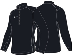 Nike Quarter-Zip Performance Fleece Top